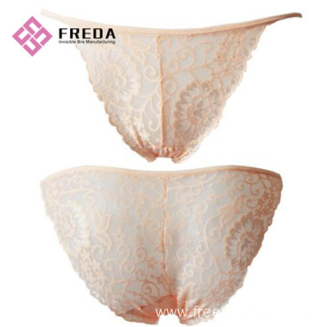 ladies fashion lacy thong panty set